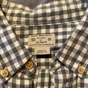 J. Crew Shirts - J Crew Flannel Button up shirt M